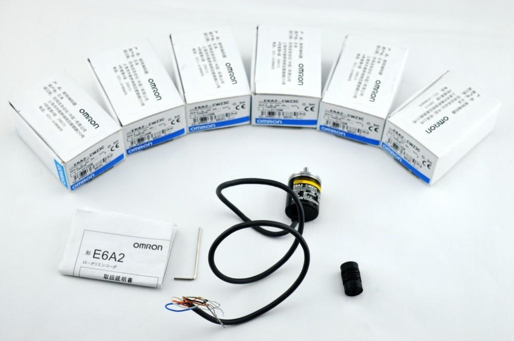 E6A2-CWZ5C Rotary Encoder E6A2CWZ5C 2500 2000 1800 1024 1000 600 500 400 360 200 100 60 40 30 20P/R 5-24v,FAST SHIPPING nib rotary encoder e6b2 cwz6c 5 24vdc 800p r