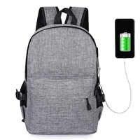 15 inch Laptop Anti-theft Backpack Men Women Backpacks USB Charge Laptop Design Male Travel Backpack School Bag Mochila Rucksack