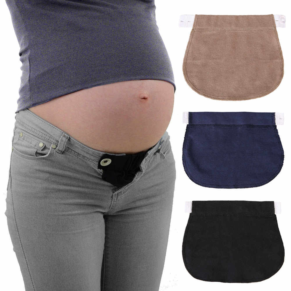 Pants Belt Extension Buckle Button Lengthening Extended For Pregnancy Pregnant Women JS21