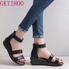 GKTINOO Women Sandals Gladiator Sandals