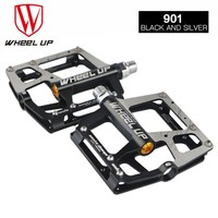 WHEEL UP Bicycle Pedal Aluminum Alloy Mountain Bike Pedals Road Cycling Sealed Bike Pedal Bicycle Parts