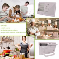 Free Shipping Large LCD Display With Digital Electronic Timer Four Channel Separate Timer Kitchen Timer