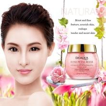 Bioaqua rose petal mask pore cleaner moisturizing facial night cream