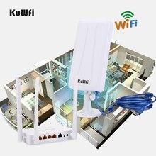 Roteador sem fio de alta potência openwrt com 4pcs 7dbi antena, adaptador sem fio de alta potência com 14dbi antena & 5m cabo usb