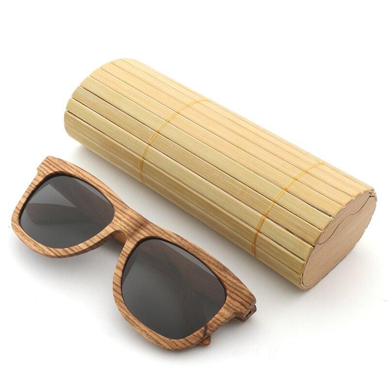 c243ad19ec 2018 Wood Sunglasses Men Brand Designer Polarized Driving bamboo Sunglasses  Wooden Glasses Frames Oculos De Sol Feminino shades-in Sunglasses from  Men s ...