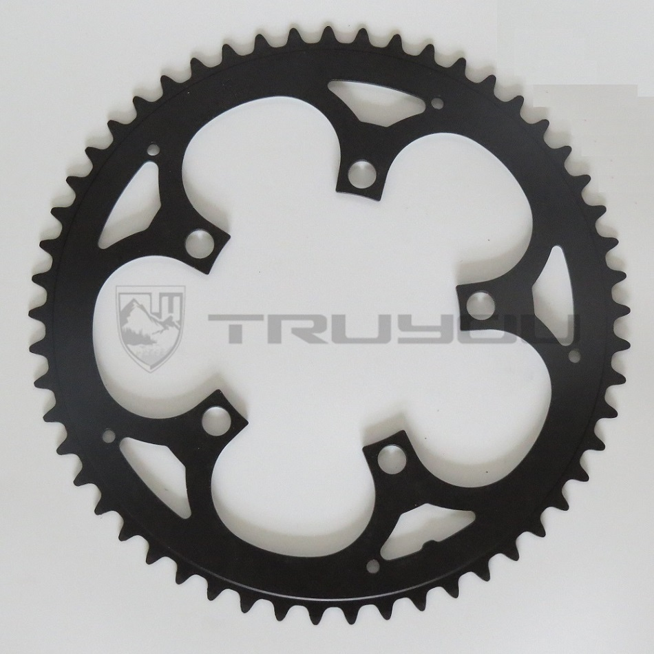 цена на TRUYOU Chain Wheel Road Bicycle Parts Crankset Folding Bike Chainring 110BCD 34T 36T 39T 42T 44T 46T 48T 50T 52T 53T Gear Disc