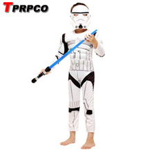 TPRPCO Star Wars Clone Trooper White Soldiers Storm Commando Boy Muscle  sc 1 st  AliExpress.com & Buy clone trooper costume and get free shipping on AliExpress.com