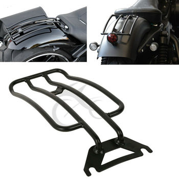 Motorcycle Solo seat Luggage Rack For Harley Electra Glide Road King Touring 1997-2005