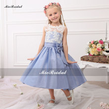 Flower Girl Dress For Wedding Pageant First Holy Lace Communion Dress For Girls Toddler Junior Child Bridesmaid Dress WF3303