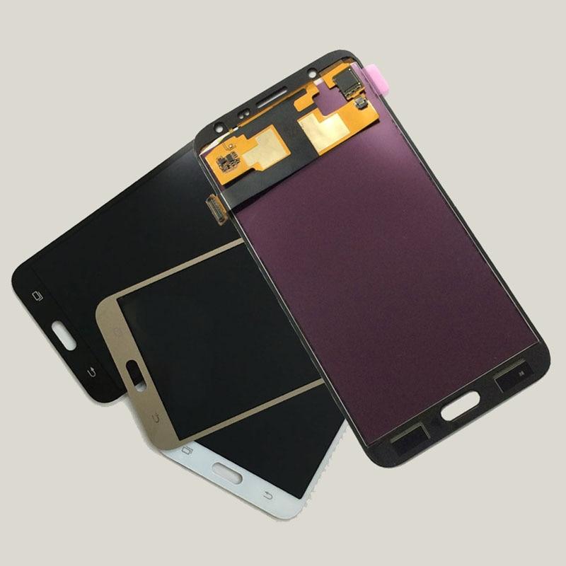 Adjustable Backlight For Samsung Galaxy J7 2015 j700 J700F J700M J700H J700FN Touch Screen Digitizer + LCD Display Assembly