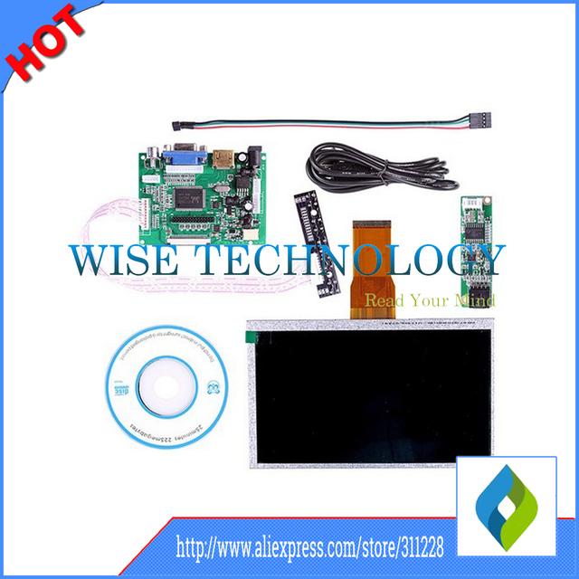 2015 novo smart 7 sain polegadas raspberry pi monitor lcd tft tela sensível ao toque + VGA 2AV Bordo Motorista HDMI Tablet PC LCD