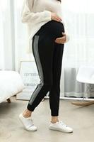 Брюки для беременных женщин; Осенние новые модные брюки для беременных женщин; повседневные брюки; Одежда для беременных; осенняя одежда