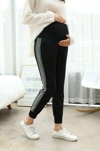 Image 1 - בהריון נשים של מכנסיים סתיו חדש אופנה נשים בהריון מכנסיים ללבוש מכנסיים מכנסי קזואל יולדות בגדי סתיו ללבוש Maternit