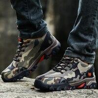 Couples Hiking Shoes Spring Autumn Women Mountain Climbing Gray Army Green Outdoor Sport Shoes Comfortable Climbing Shoes Men
