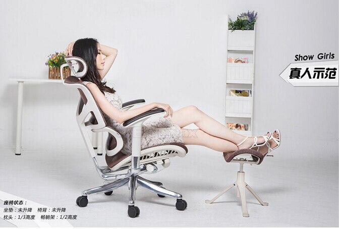 Ergomax Emperor + ergonomic chair. Home games e-sports chair