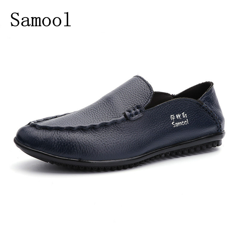 2017 Spring Autumn Luxury Driving Breathable Genuine Leather Flats Loafers Men Shoes Casual Fashion Slip On Shoes Big Size 38-47 vesonal 2017 summer luxury driving breathable genuine leather flats loafers men shoes casual fashion slip on size 38 44 v1602