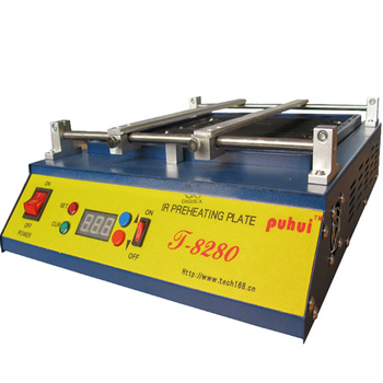 цена на T-8280 IR-Preheating Oven T8280 Preheat Plate Infrared Pre-heating Station FOR PCB SMD BGA soldering