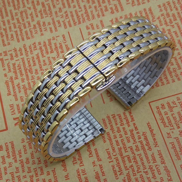 New 2015 Watchband Stainless Steel Straps For Fashion Brand Watches men High Quality Solid link Watch