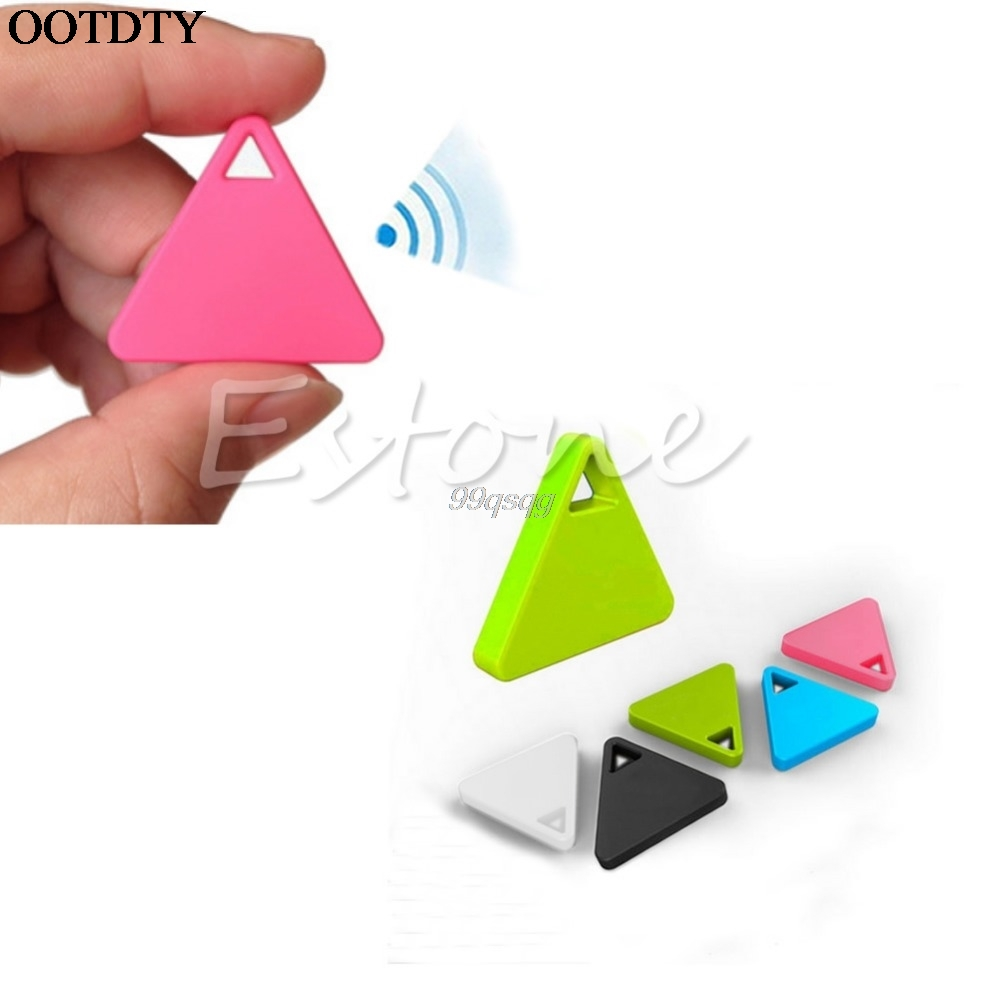 Portable Hot Bluetooth Tracker GPS Locator Antilost Tag Alarm For Car Pets Child Black Drop shipping