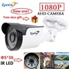 1PC Zjuxin Ahd Camera 1080p 5 36 LED Ahd 2mp Camera With HD 3 6mm 1080p