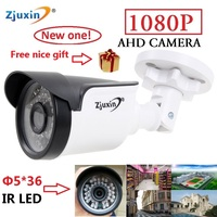 1PC Zjuxin Ahd Camera 1080p 5 36 LED Ahd 2mp Camera With HD 3 6mm 1080p
