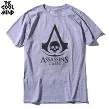 d2dd5060f COOLMIND AS0112A Cotton casual Assassin Creed Printed men T Shirt Cool fashion  mens Tshirt short sleeve Tee Shirts for men