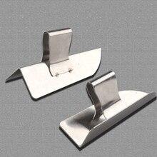 1 пара 14,5 см нержавеющая сталь правый угол ремонт скребка серый нож декоративный шпатель штукатурный инструмент уголок для каменщика