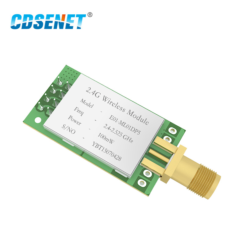 1Pc E01-ML01DP5 nRF24L01 PA LNA 2.4GHz rf Module 2.5km iot SPI 2.4 ghz rf Transmitter Receiver with shield for arduino nRF24L01P1Pc E01-ML01DP5 nRF24L01 PA LNA 2.4GHz rf Module 2.5km iot SPI 2.4 ghz rf Transmitter Receiver with shield for arduino nRF24L01P