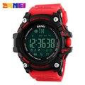 Skmei 1227 hombres de marca relojes de pulsera digitales smart watch dial grande de moda deporte al aire libre relojes de luz de fondo a prueba de agua reloj de hombre
