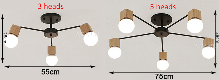 HTB1us7Gdf1H3KVjSZFHq6zKppXa2 Nordic iron wood ceiling Light Modern home Living Room Bedroom aisle LED Ceiling Lamp Luminaire Lampara Techo