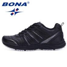 BONA New Typical Style Men Running Shoes Outdoor Walking Jog