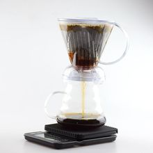 Free Shipping V60 Coffee Dripper Gift Sets Coffee Scale 600Ml Server Clever Dripper pot