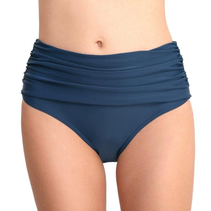 2019 neue Frauen Hohe Taille Bikini Bottoms Schwimmen Short Slip Sexy Badeanzug Panty Unterwäsche Bademode Shorts Bikini Bottom
