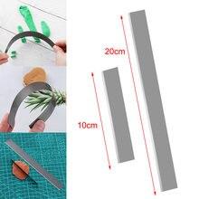 DIY ceramika elastyczna stal nierdzewna glina polimerowa nóż ostrze ceramiczne narzędzia modelowanie tkaniny sztuki ręcznie rzeźbienie krajalnica