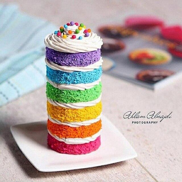 Macaron Cream Cake Fondant Baking Cake Edible