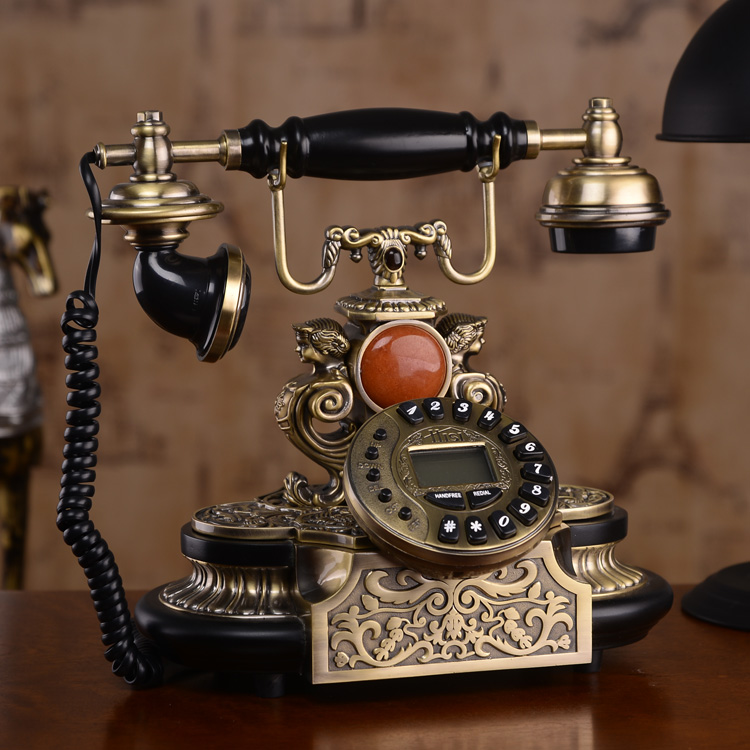 Luxury House With Phone With: European Style Antique Telephone American Luxury Vintage
