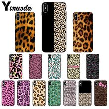 11pro MAX leopard print TPU black Phone Case Cover Shell for Apple iPhone 8 7 6 6S Plus X XS MAX 5 5S SE XR Cover 11pro max marvel logo coque shell phone case for apple iphone 8 7 6 6s plus x xs max 5 5s se xr cover