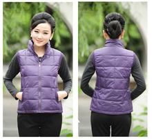 Gilet Special Offer Novelty Solid Chalecos Mujer Winter 2016 Korean Version Of The New Female Short Vest Down Collar Wholesale