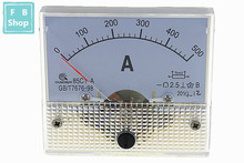 1PCS 85C1-A 100A 150A 200A 250A 300A 400A 500A DC Misuratore Analogico Pannello di AMP Current Amperometri Calibro