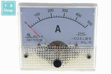 Panneau de mesure analogique, ampèremètre de courant, 85C1-A 100A 150A 200A 250A 300A 400A 500A DC, 1 pièce