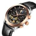 Часы Мужчины Бизнес Роскошный Спорт Автоматическая Дата Механические Часы Светящиеся Мужские Tourbillon Лучший Бренд Наручные Часы