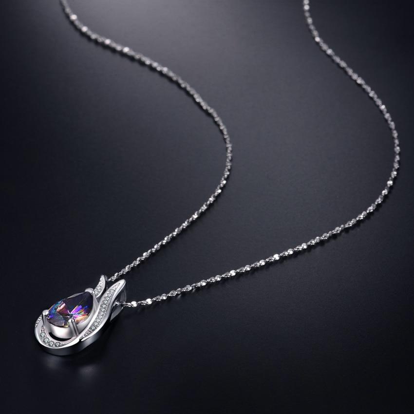 Toptan 100% gerçek 925 Ayar Gümüş kolye Marka EN Kaliteli - Takı - Fotoğraf 5