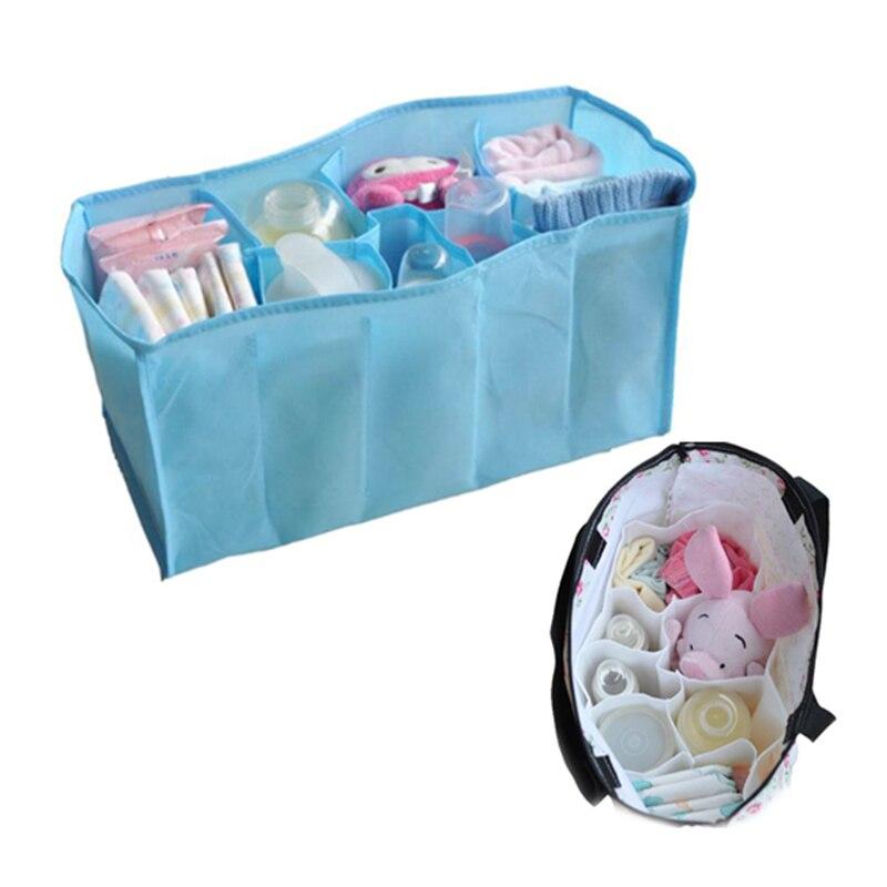 37x18x20 см Портативный путешествия 7 вкладыши пеленки сумка Вставить Организатор подгузник питания для хранения TB распродажа