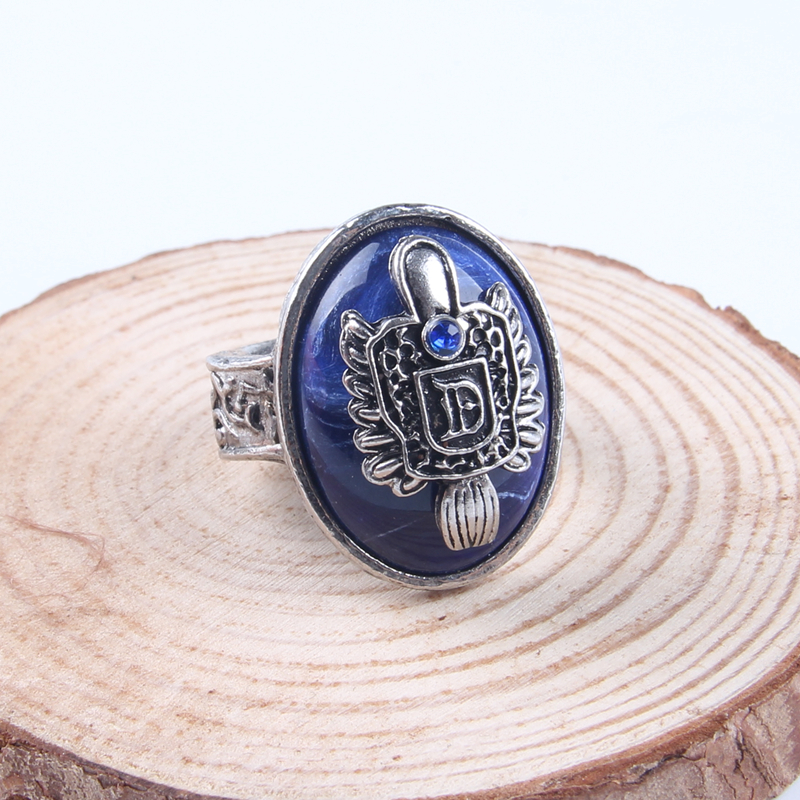 AE-CANFLY The Vampire Diaries Vintage Ring Damon Salvatore - Modeschmuck - Foto 3