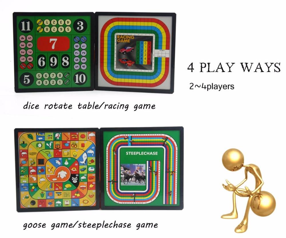 U3 14 In 1 Game Toys Ladder Gamechessludomotor Racingcheckers