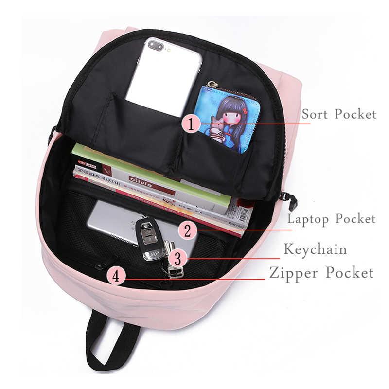 Приложение блог забавная собака многофункциональный ноутбук мужские рюкзаки для женщин студентов 2018 Мода Досуг водонепроницаемый рюкзак для путешествий женский