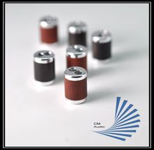 High-end  HiFi Fiber Y Splitter Speaker Sandalwood partition