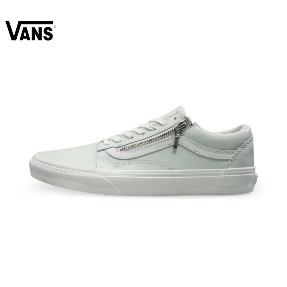 Original Vans Classic Vans New Arrival Unisex Mint Green Skateboarding Shoes Sports Shoes Sneakers mint green casual sleeveless hooded top