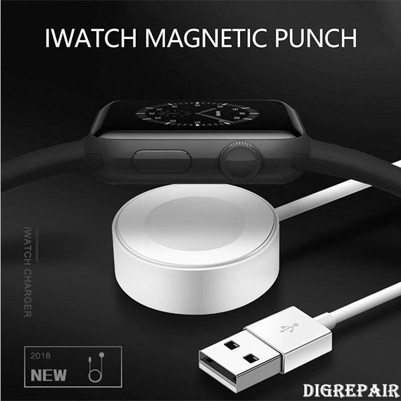 49331cf2897 1 M rápido magnético inalámbrico Cable de carga para apple watch cargador adaptador  para apple watch Serie 2 3 4/38/42 MM almohadilla de carga Dock