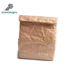 Ice Pack Kraft Paper Picnic Bag Environmentally Solvable Tyvek Aluminum Film Lunch Box Outdoor Camping Heat Preservation
